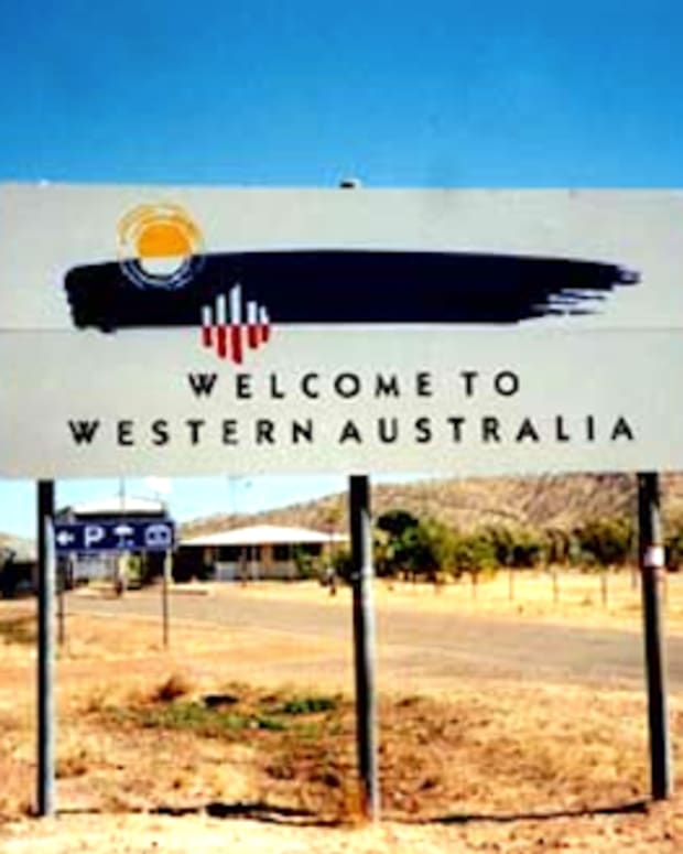 Australia Welcome Sign