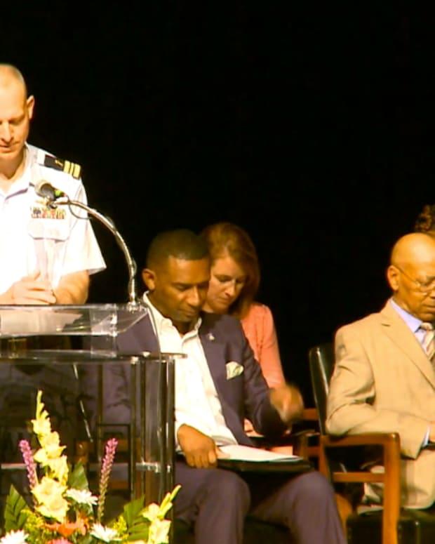 Lt Cmdr Matthew Prince