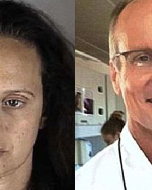 Left: Kimberley Socha, Right: Walter Palmer