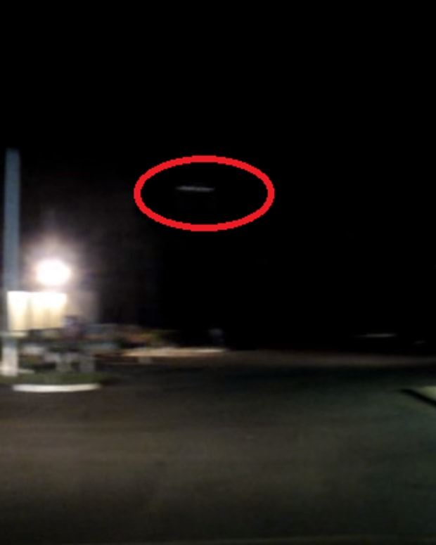 a supposed ufo spotted in australia