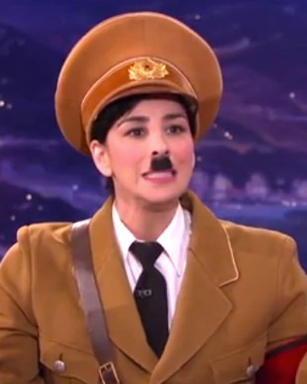 Sarah Silverman as Hitler, Rejects Trump (Video) Promo Image