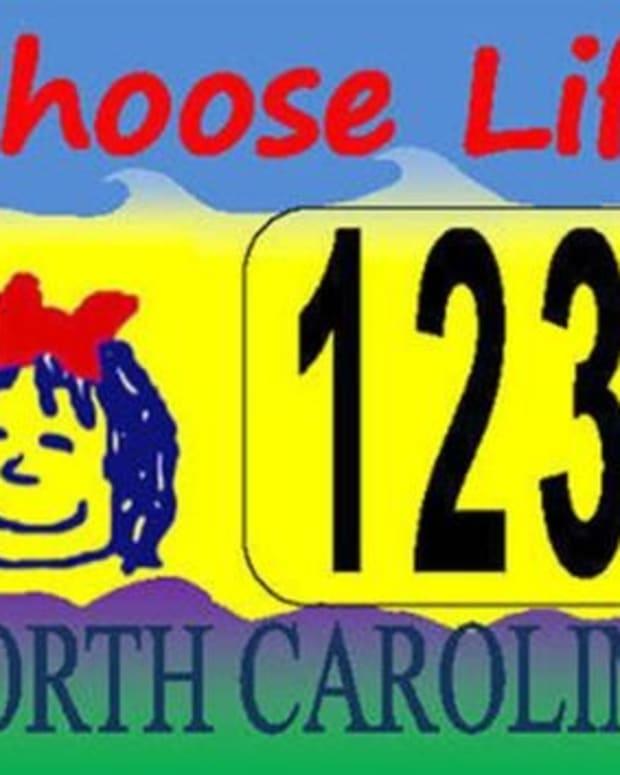 North Carolina Gives Green Light To 'Choose Life' Plates Promo Image