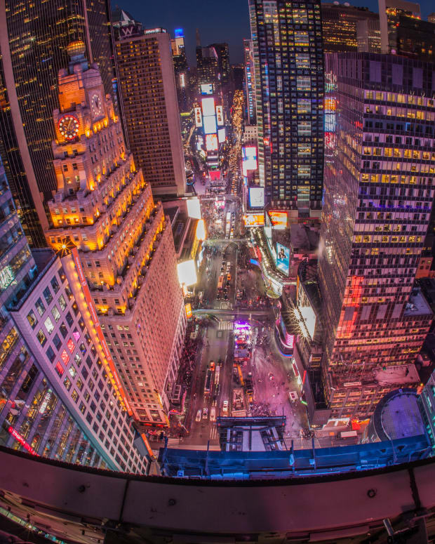 Times Square on Dec. 30, 2014.