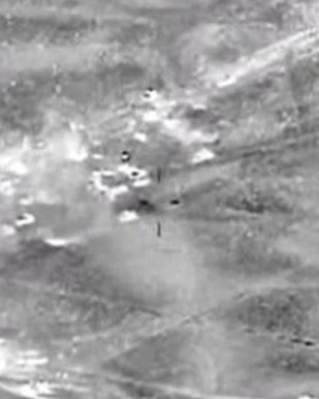 US Strikes ISIS After Turkey Bombing (Video) Promo Image