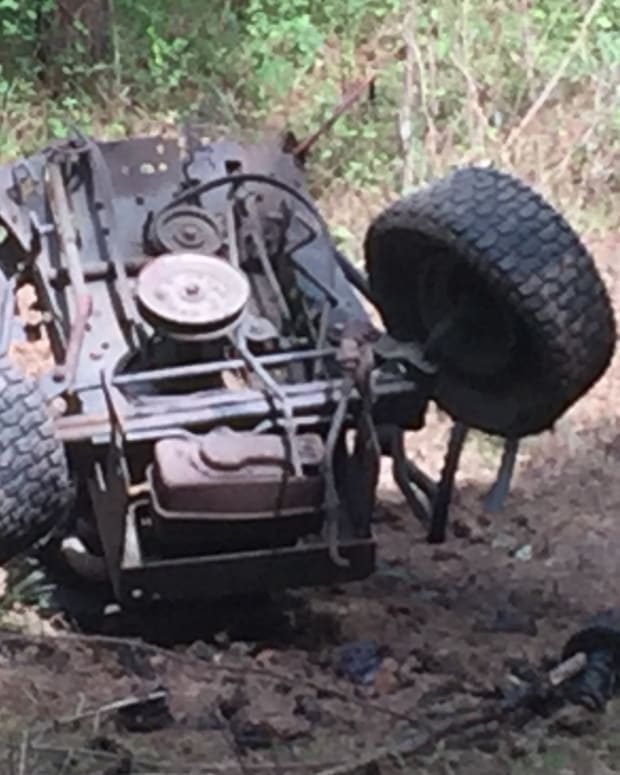 Georgia Man Loses Leg After Explosives Stunt (Video) Promo Image