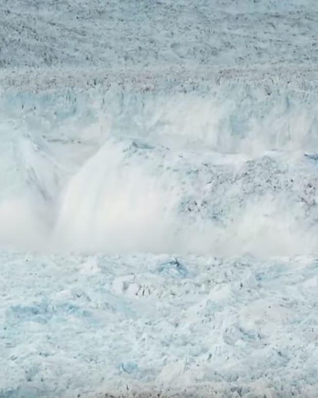 Ilulissat Glacier Calving