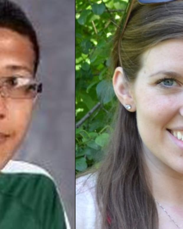 Left: Philip Chism, Right: Colleen Ritzer