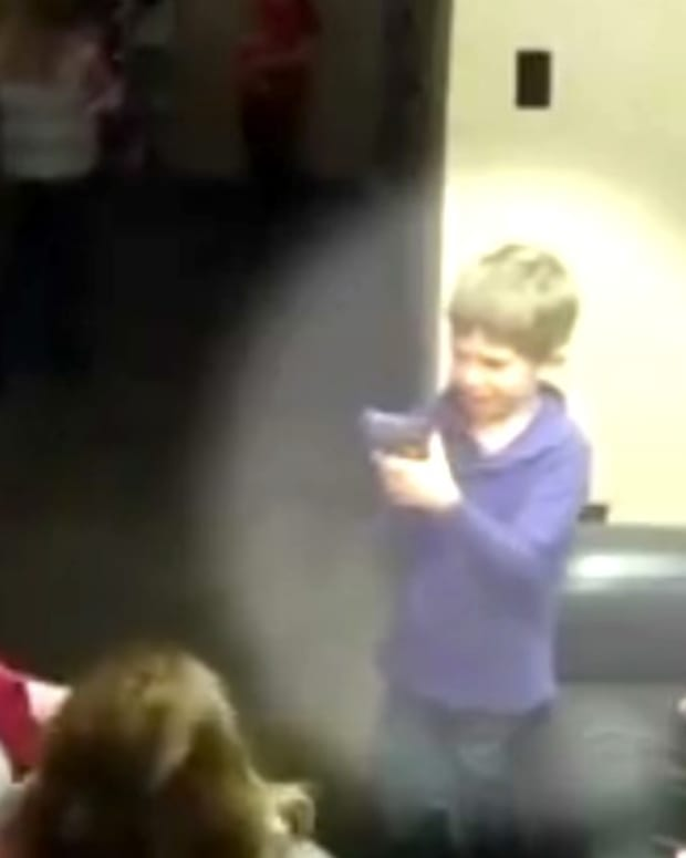 Experiment: Kids Left Alone In Room With Gun (Video) Promo Image