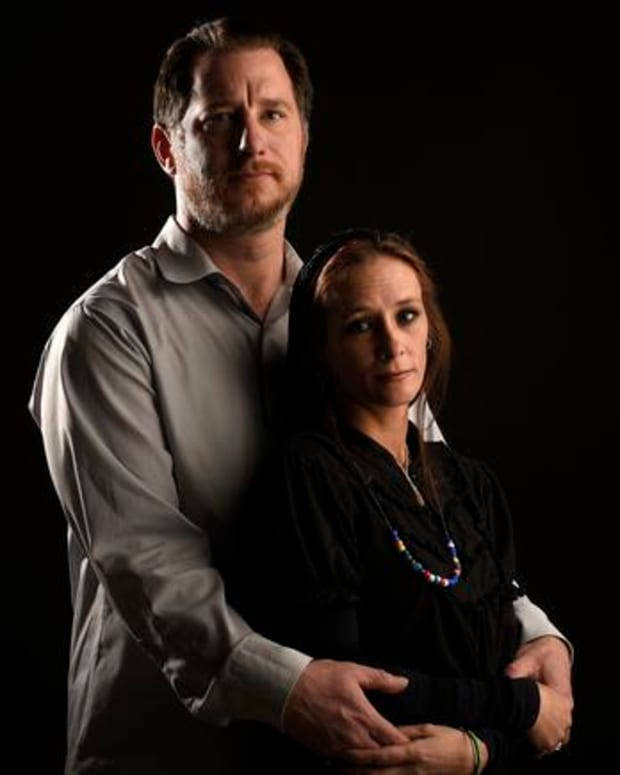 Veteran Raymond Schwab And His Wife Amelia