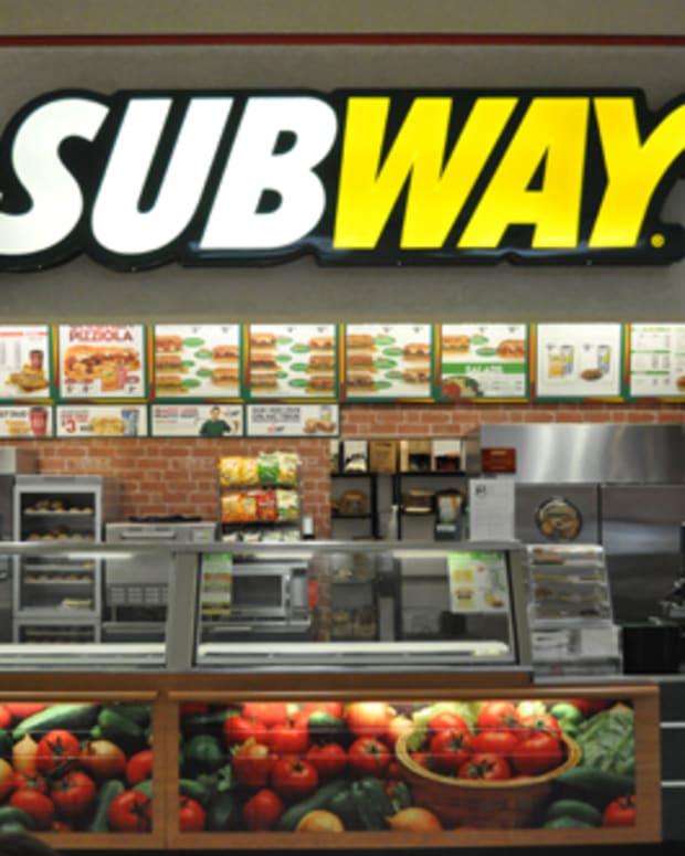 a Subway restaurant