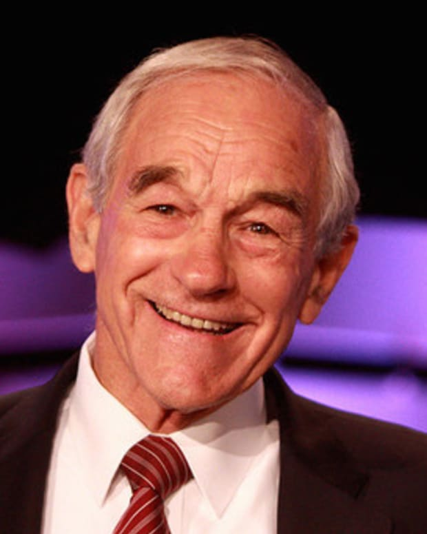 Ron Paul: I Will Not Vote For Trump Or Clinton Promo Image