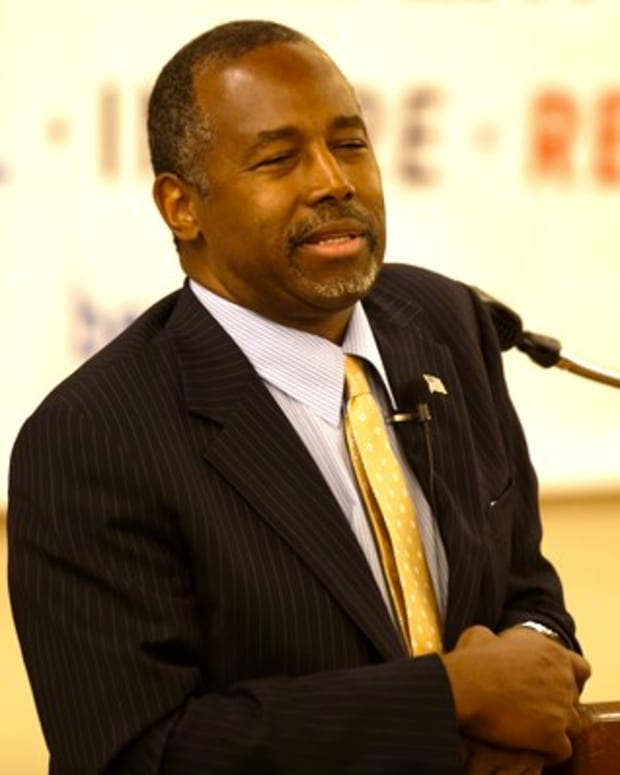 Ben Carson: President Obama Was 'Raised White' (Video) Promo Image