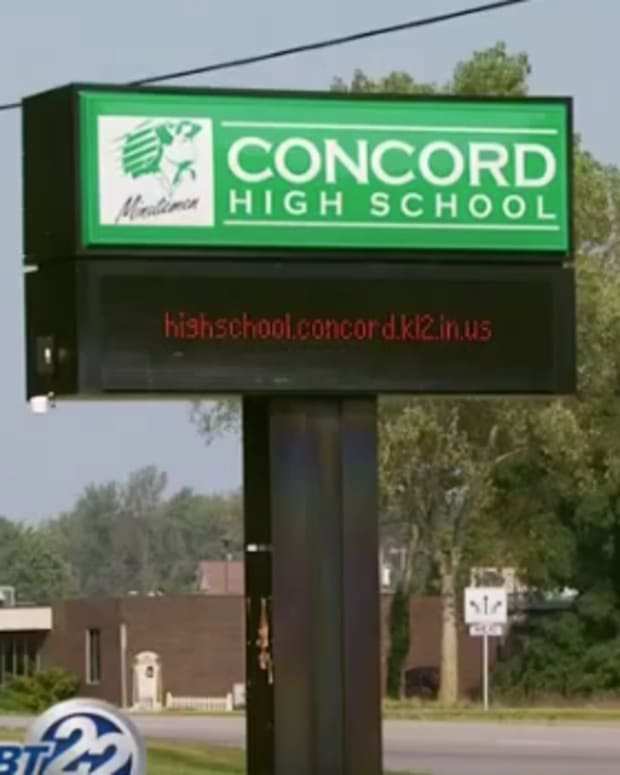 Concord High School Sign