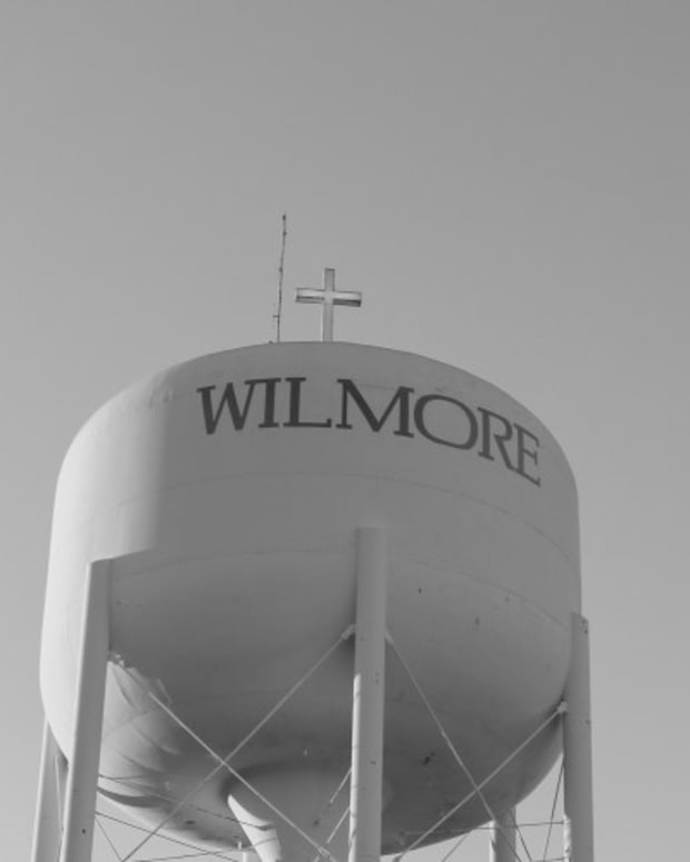 The Water Tower Of Wilmore, Kentucky