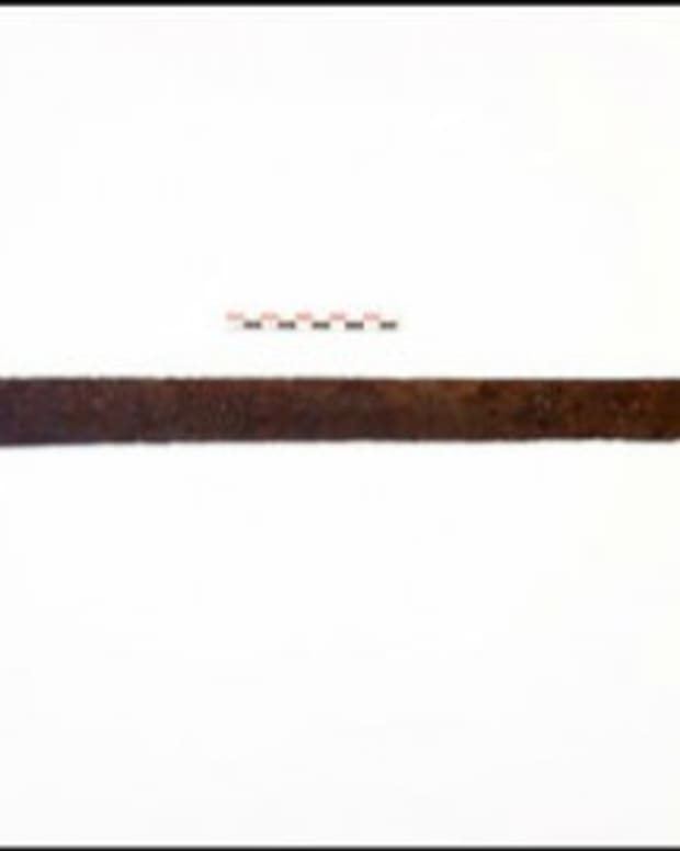 1,200-Year-Old Sword Discovered In Haukeli, Norway