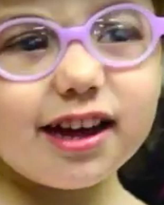 Surgery Restores Girl's Vision, Mom Credits God (Video) Promo Image