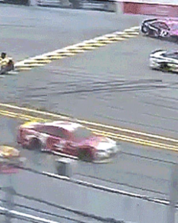 NASCAR Sprint Cup Series Race Crash