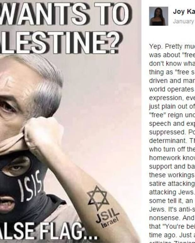 Professor Writes Anti-Semitic Facebook Posts (Photos) Promo Image