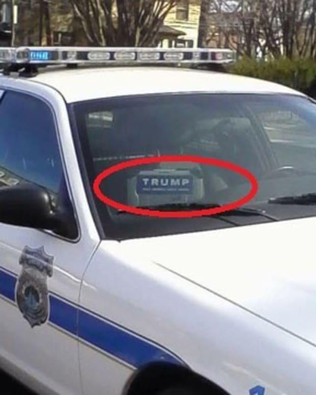 Connecticut Police Apologize For Trump Sticker (Photo) Promo Image