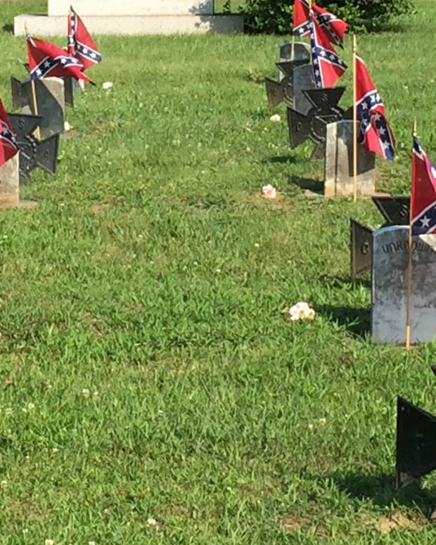 Confederate Flag To Remain In National Cemeteries  Promo Image