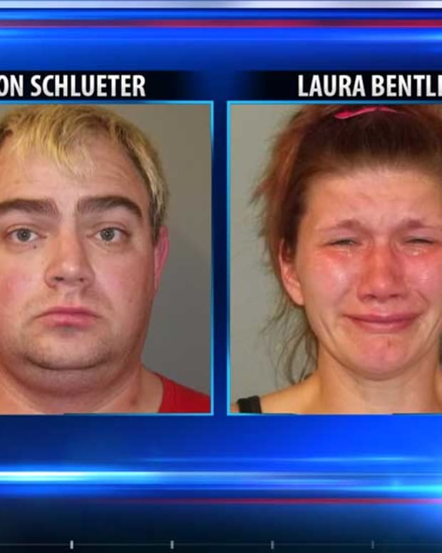 Jason Schlueter and Laura Bentley