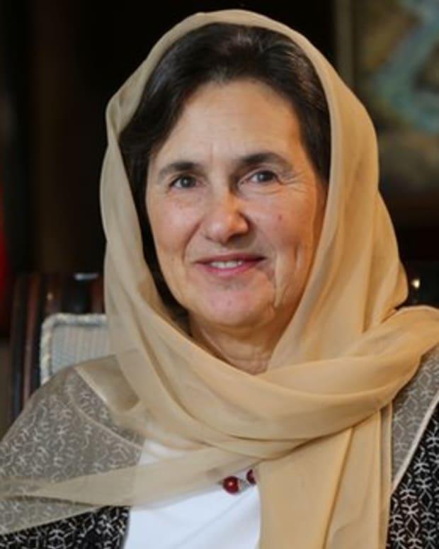 Afghan first lady Rula Ghani.