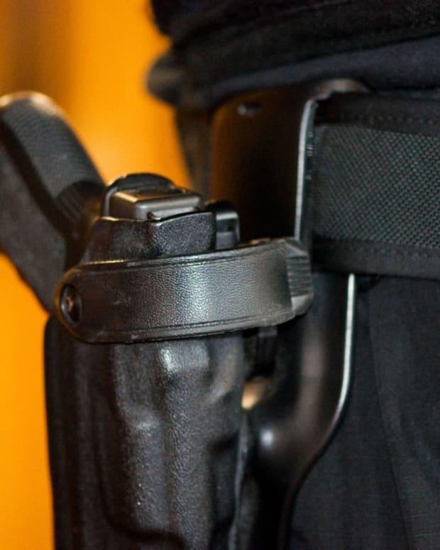 Police Officer's Gun