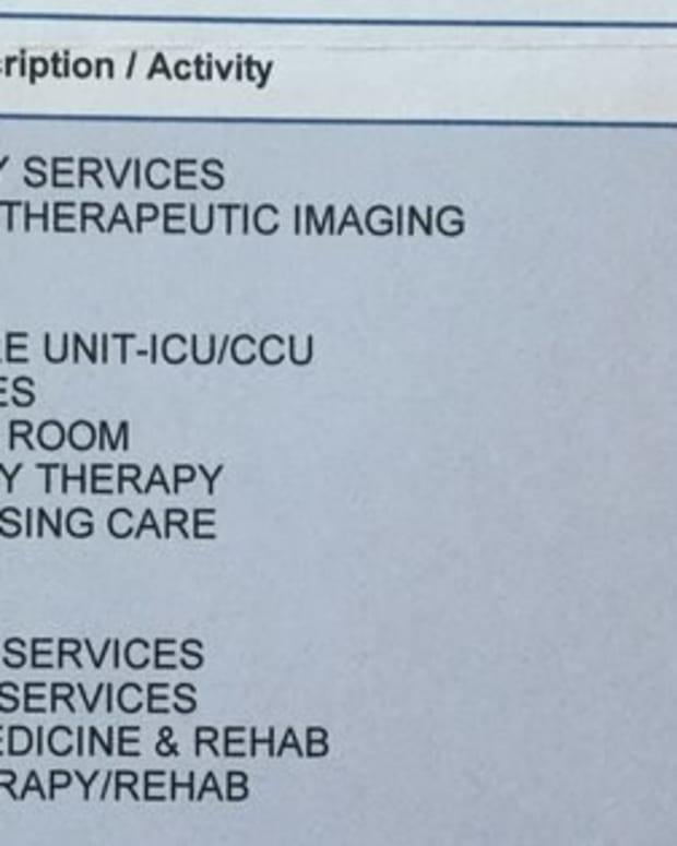 Man Receives $367,000 Medical Bill  Promo Image