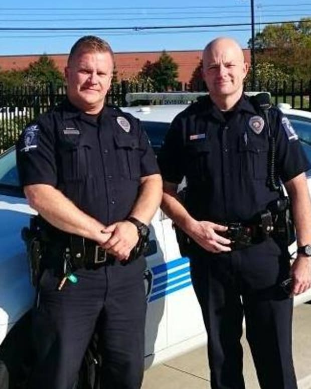 Officer William (left) and Officer Overman (right)