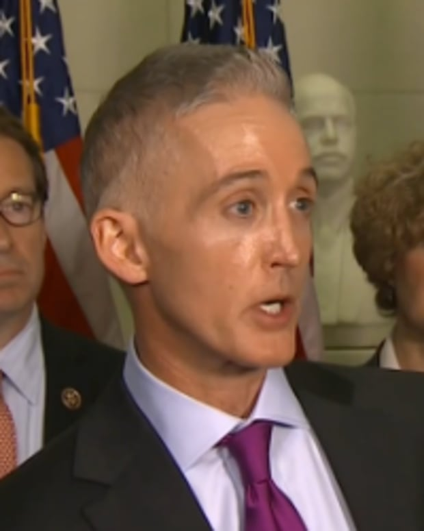 Republican Rep. Trey Gowdy Of South Carolina