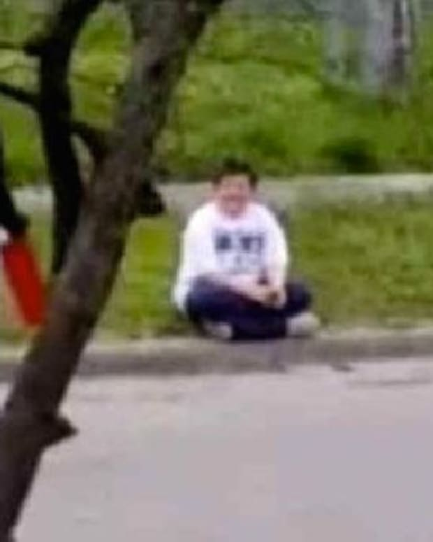 Teenage Girl Walks Over To Bullied Boy And Hands Him A Red Box... (Photos) Promo Image