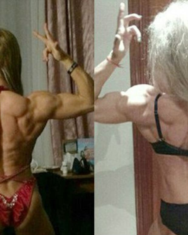 Aleksandra Rudenko Before And After.