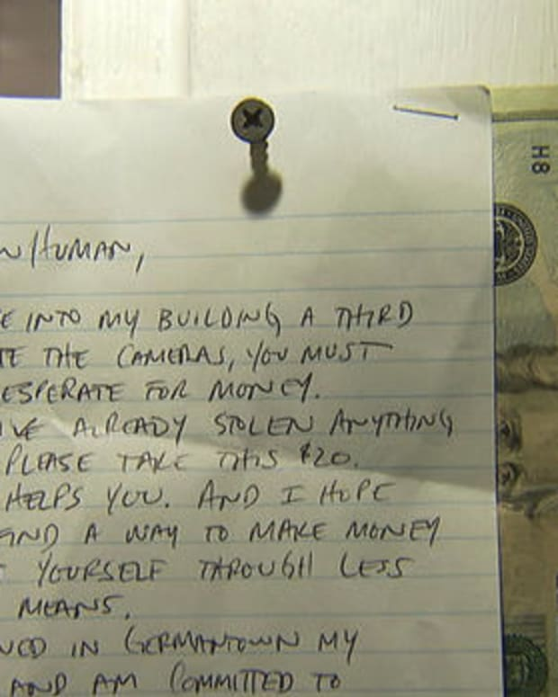 Business Owner Leaves Money For Thief After Robbery Promo Image
