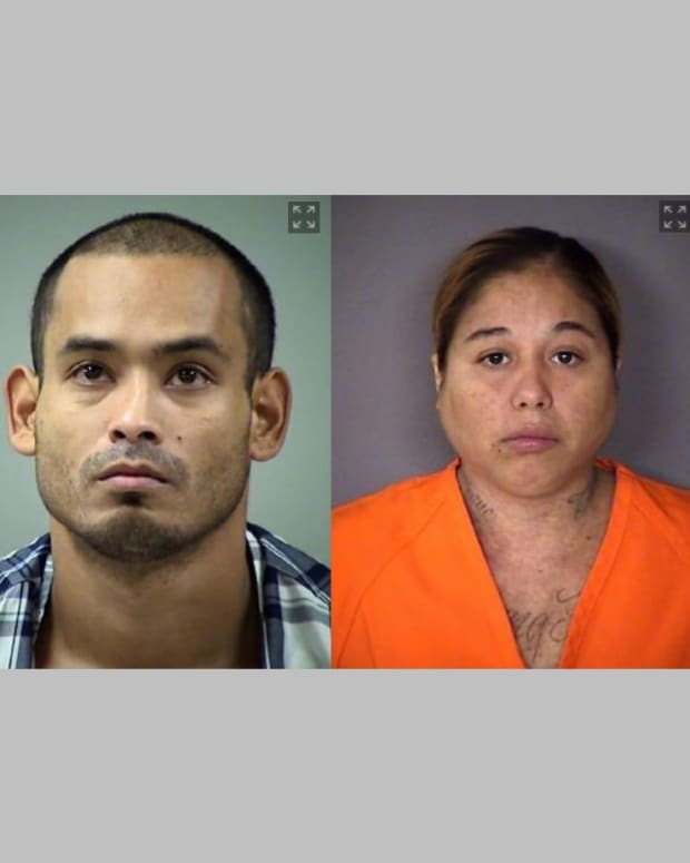 From left: Rebecca Nicole Alvarez, Christopher Castoreno, Veronica Ann Diaz, and Adrian Colon.
