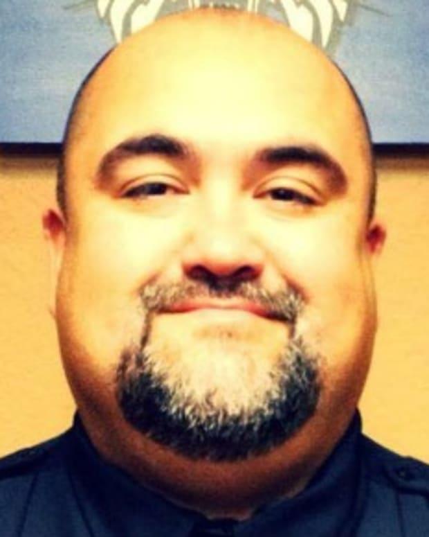 Childress Police Chief Adrian Garcia.