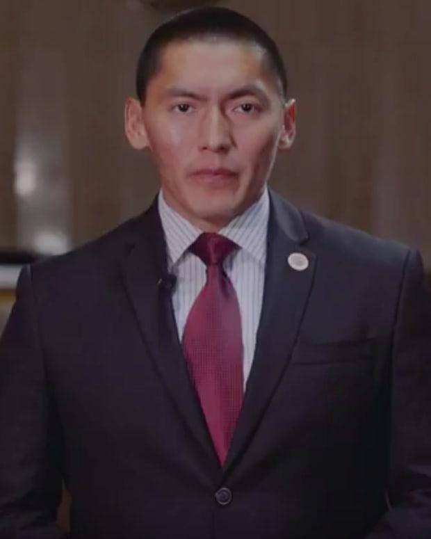 Senator Carlyle Begay
