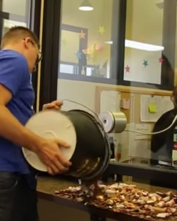 Man Pays Speeding Ticket In Pennies (Video) Promo Image