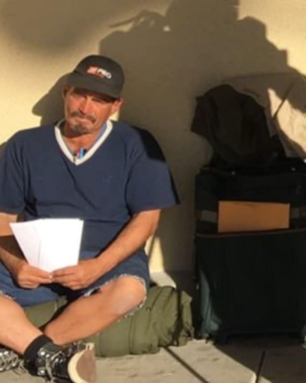 Homeless Man Lands Job After Viral Post Promo Image
