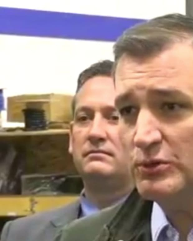 Cruz To Trump: 'You're A Sniveling Coward' (Video) Promo Image