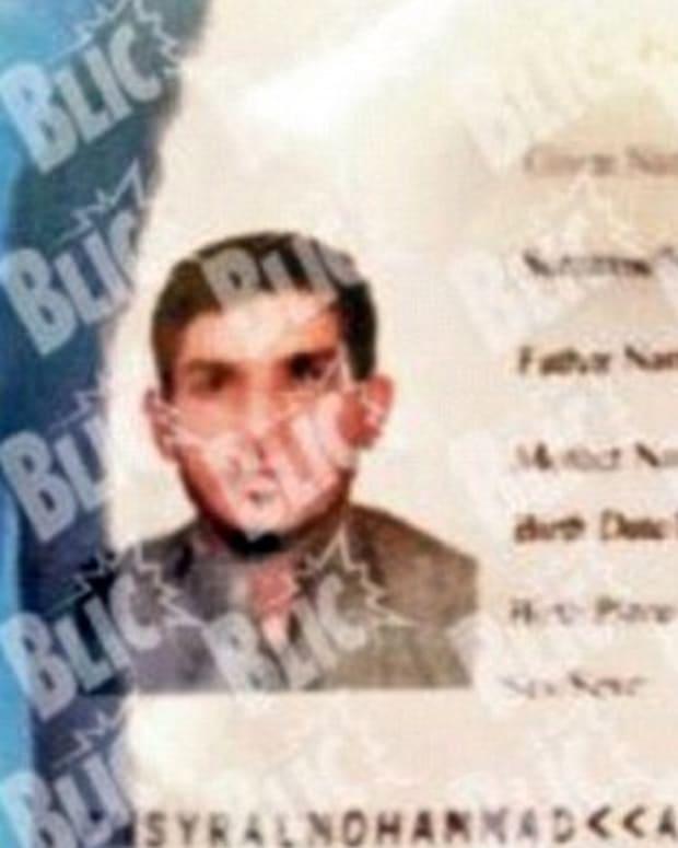 Paris Attacker Syrian Passport