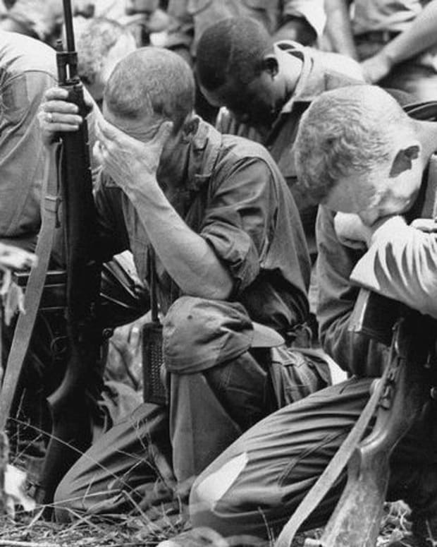 U.S. Soldiers in Vietnam.