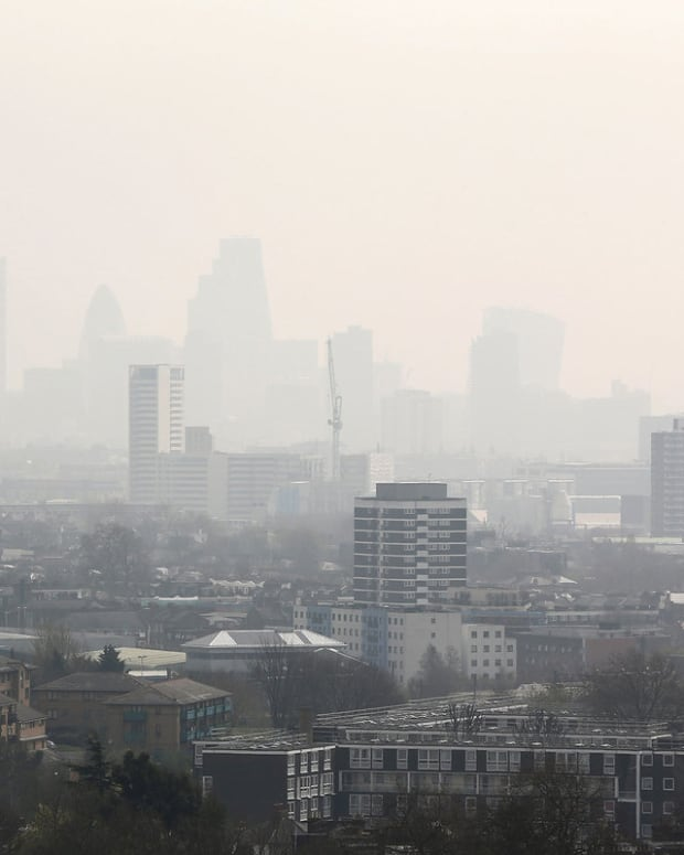 London with smog