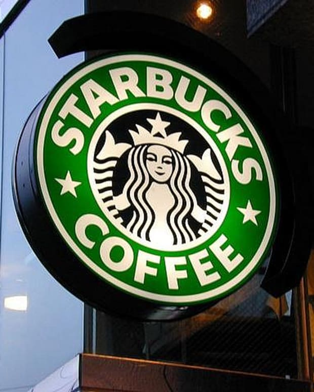 Starbucks sign on storefront