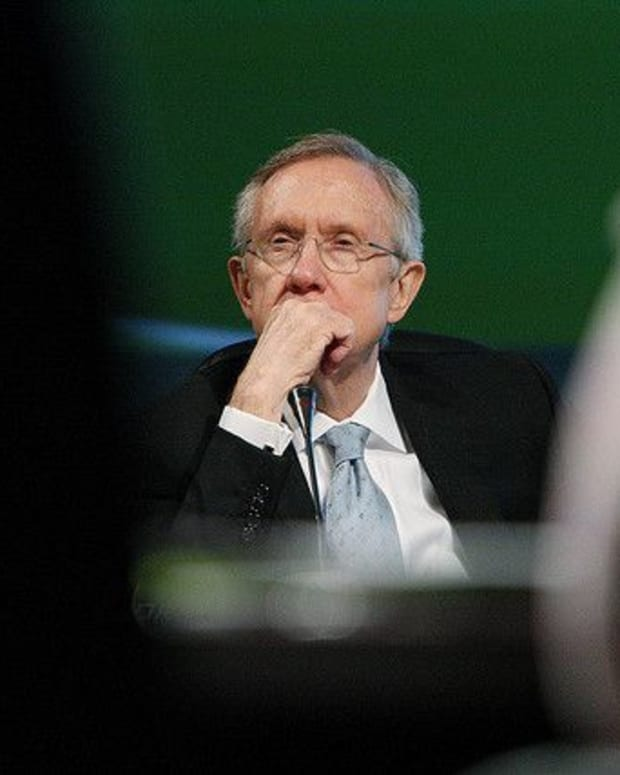 Senate Minority Leader Harry Reid.