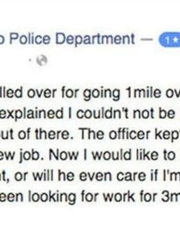Woman's Negative Review Of Police Officer On Facebook Gets Epic Response (Photos) Promo Image