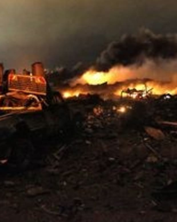 West, Texas, Blast Caused By Fire Started Deliberately Promo Image
