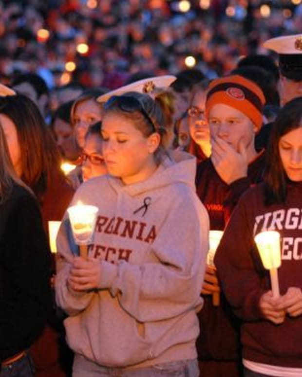 Vigil Held For Victims Of 2007 Virginia Tech Shootings