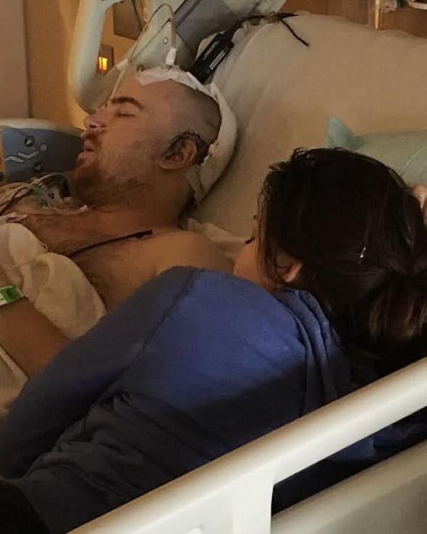 sam whitehorn in the hospital