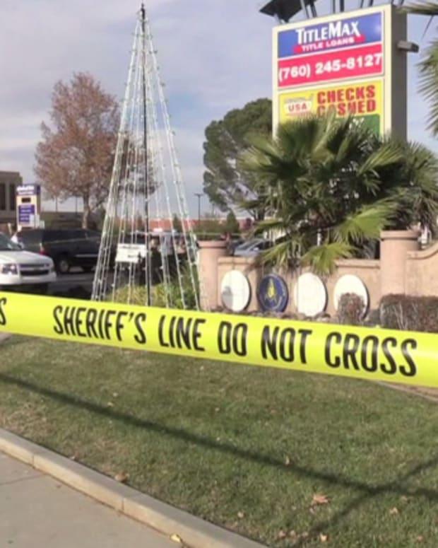 the site where a newborn baby was found dead