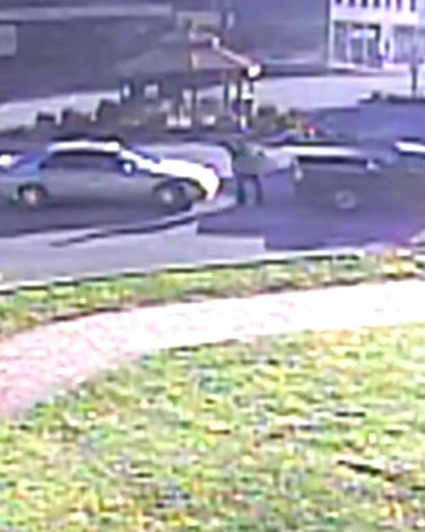 Police: Man Stopped Traffic To Moon Officers (Video) Promo Image